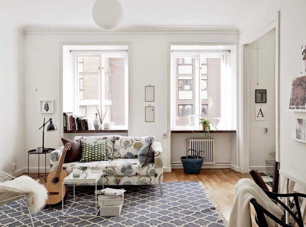 Скандинавский стиль в интерьере квартиры