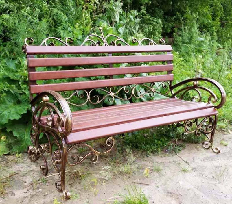 Все о деревянных скамейках со спинкой