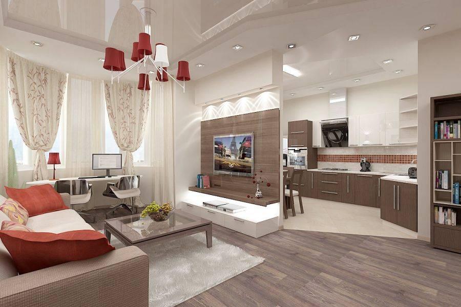Дизайн квартиры-студии: 150+ (фото) идей для интерьера