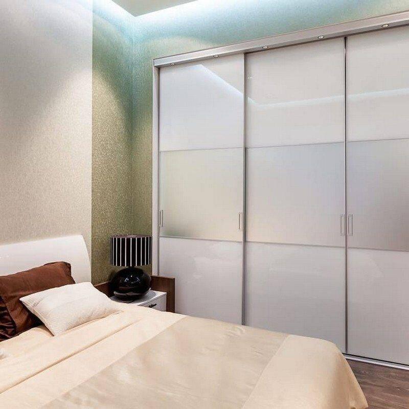 Встраиваемый шкаф в спальню: стильные решения и современные модели шкафов (165 фото)
