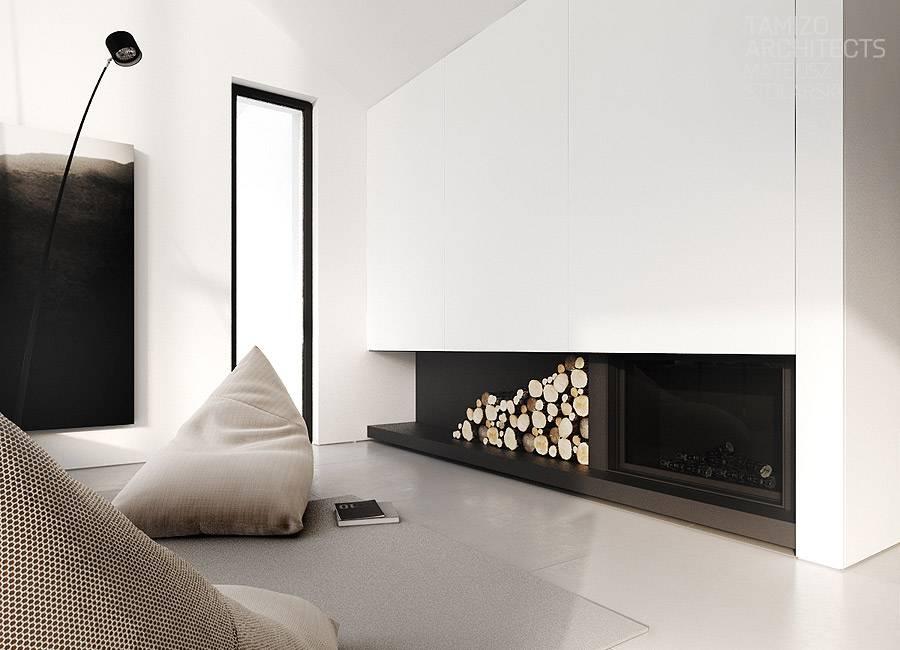 Гостиная с камином: обустройство дома и квартиры со вкусом (44 фото)