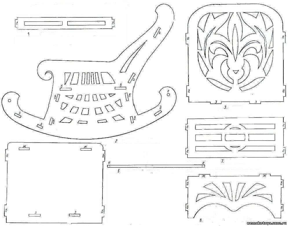 Красивые поделки из фанеры - оригинальные решения и пошаговое описание изготовления