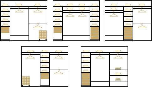 Наполнение шкафов-купе: советы по сборке и планировке шкафа