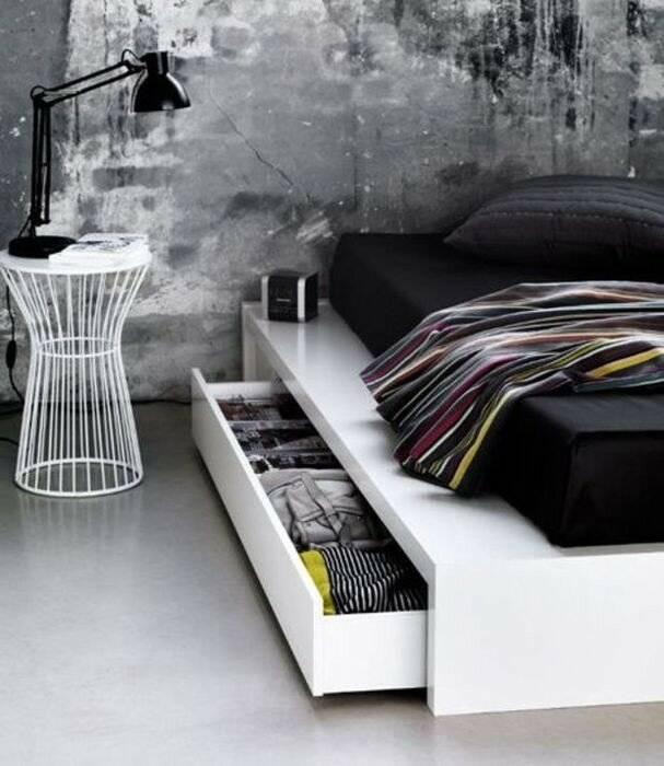 Черная спальня: лучшие современные идеи (+45 фото)