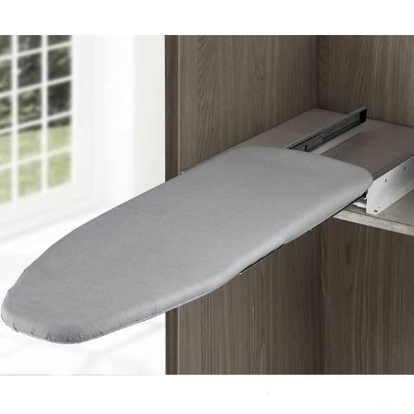 Встроенная гладильная доска в шкаф, настенная и откидная доска своими руками, выдвижная доска на стену