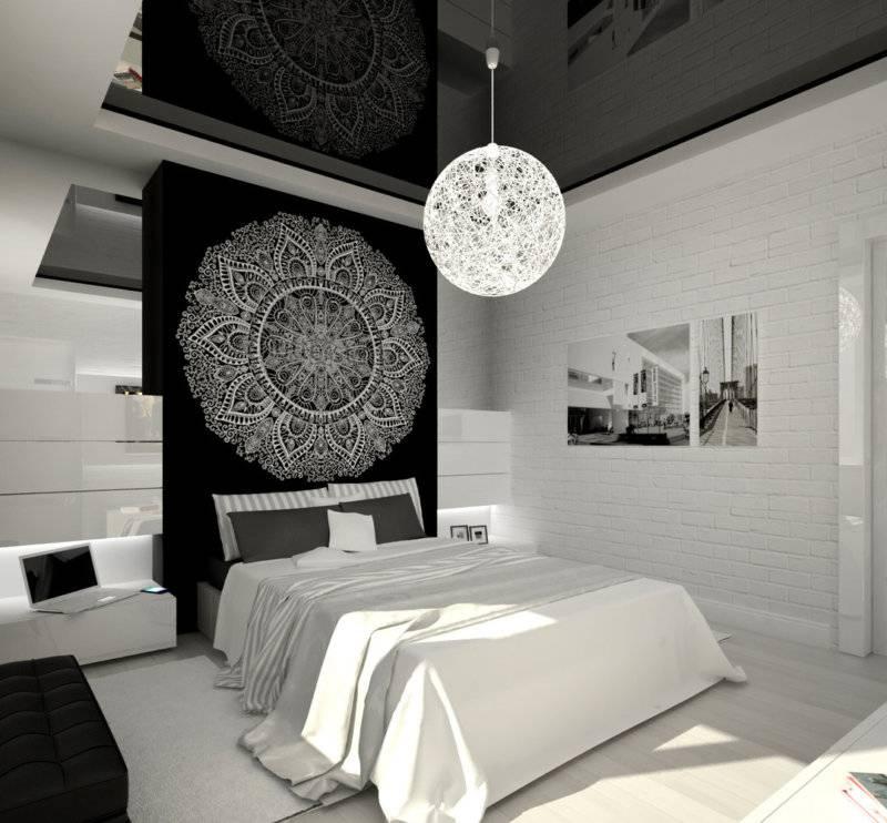 Спальня в белых тонах: фото примеры лучших сочетаний белых цветов в дизайне интерьера спальной комнаты
