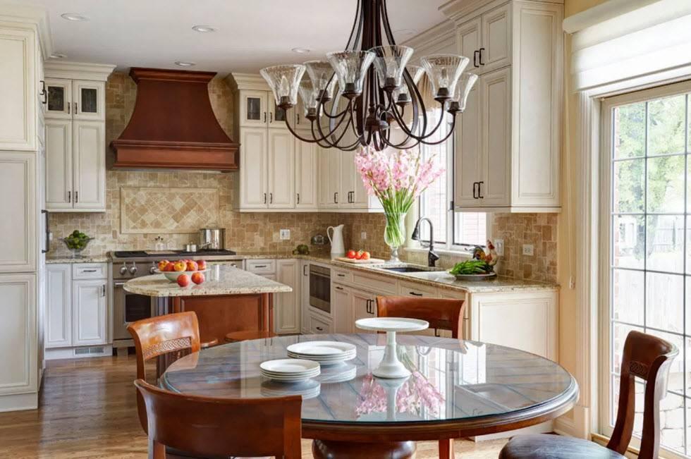 Интерьер кухни-гостиной: 100 фото примеров в частном доме и квартире