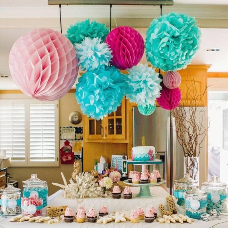 Как украсить стол на день рождения ребенка? 60 фото украшение детского сладкого стола дома для девочки и мальчика, красивое оформление своими руками