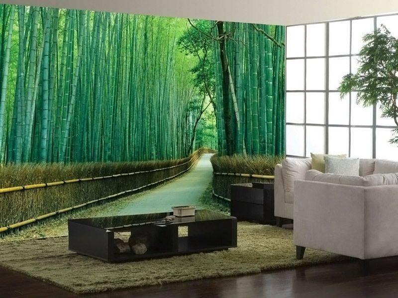 Перегородка из бамбука своими руками. натуральный бамбук в стеблях. подготовка стен и наклеивание