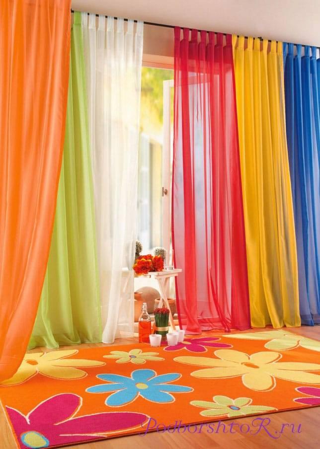 Фото штор в детскую комнату: лучшие идеи дизайна
