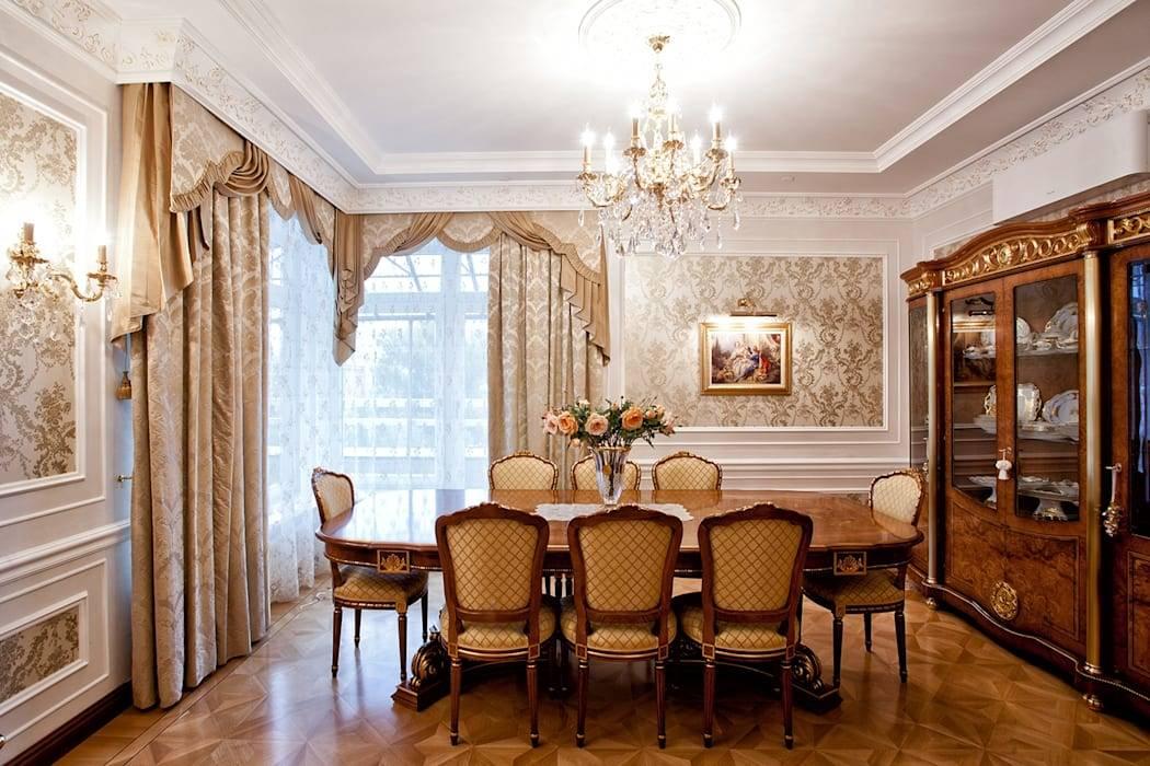 Квартира в классическом стиле - главные идеи и элементы дизайна (73 фото)