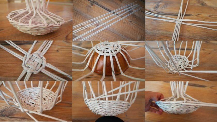 Плетение из газетных трубочек для начинающих (61 фото): мастер-классы по изготовлению поделок своими руками. виды плетения
