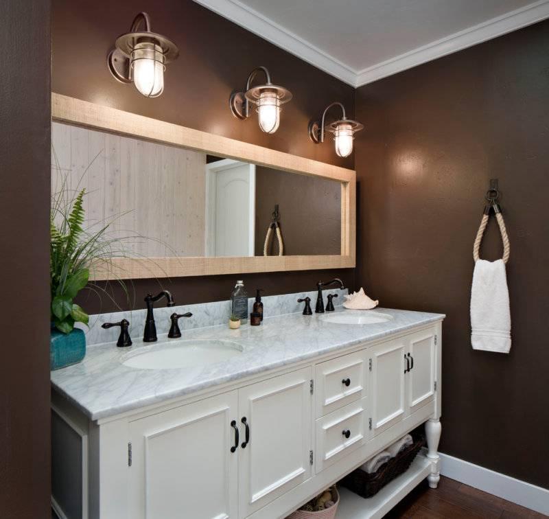 Светильники в потолок для ванной (110 фото): лучшие примеры дизайна и организации освещения в ванной комнате
