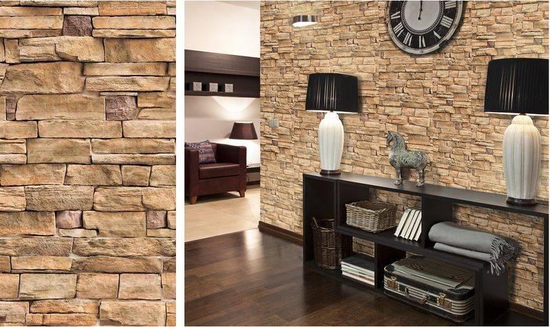 Имитация кирпича для внутренней отделки: обои или штукатурка, краска или панели, плитка на стену в декоре
