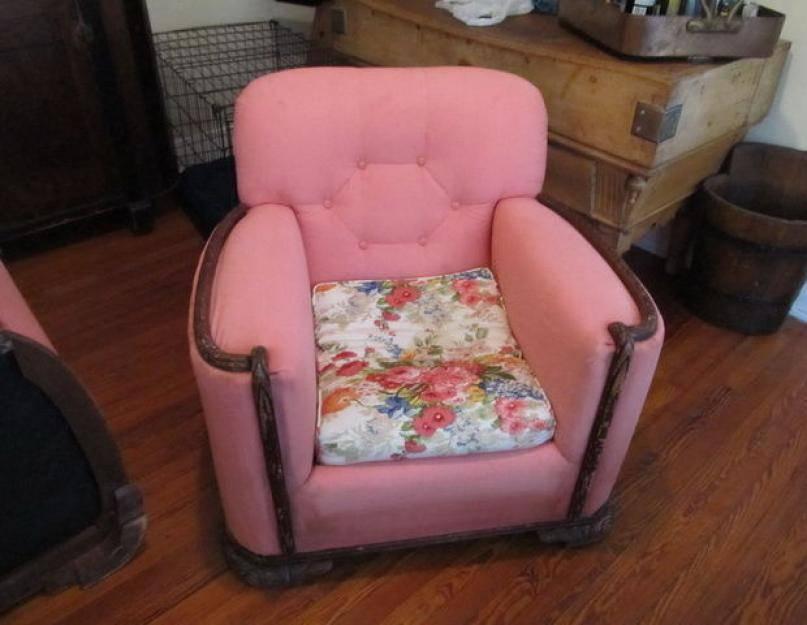 """Как перетянуть кресло в домашних условиях - журнал """"сам себе изобретатель"""""""