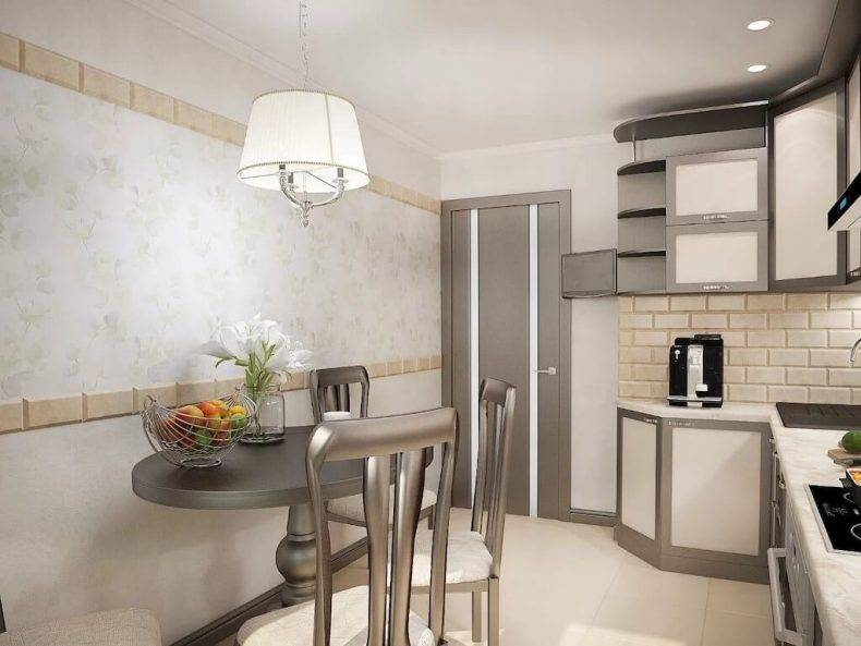 Дизайн кухни 9 кв. м: планировка, способы расширения пространства и создания красивого интерьера