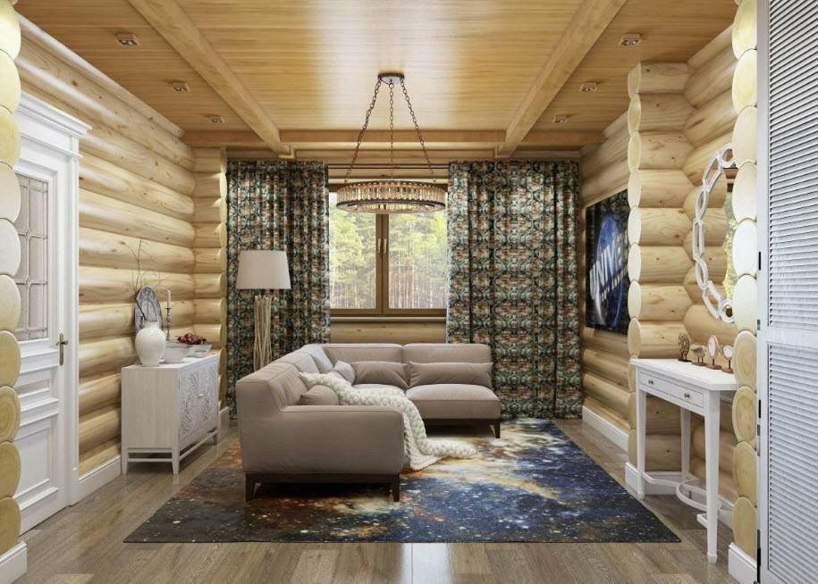Дизайн дачного дома, современный интерьер маленьких комнат, стильное оформление гостиной просто и со вкусом  - 35 фото