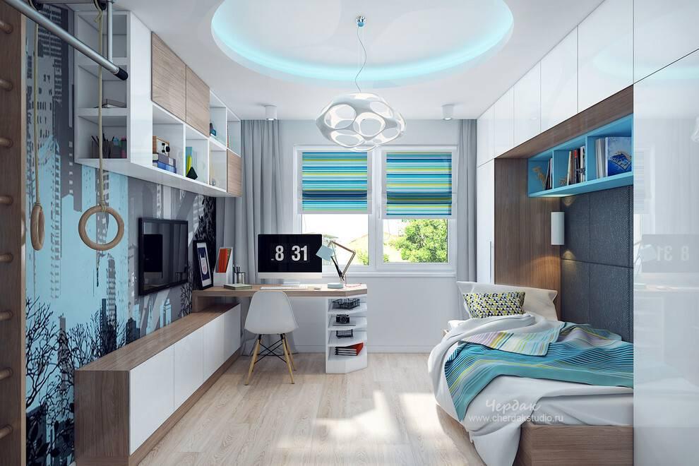 Стили комнат для подростков: топ-8 идей дизайна + 175 фото