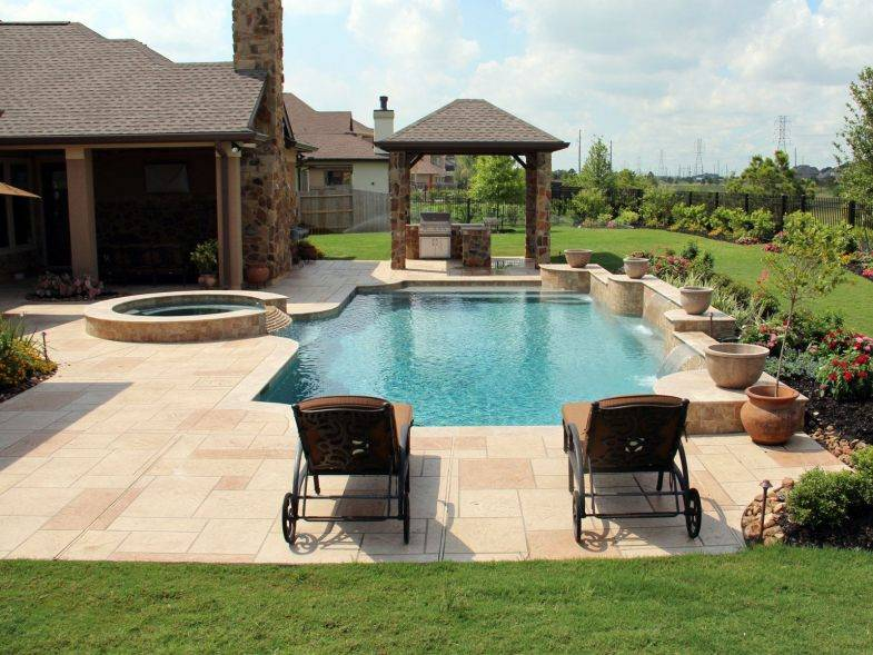 Бассейн на участке (65 фото): как сделать уличный бассейн во дворе загородного частного дома своими руками? обустройство
