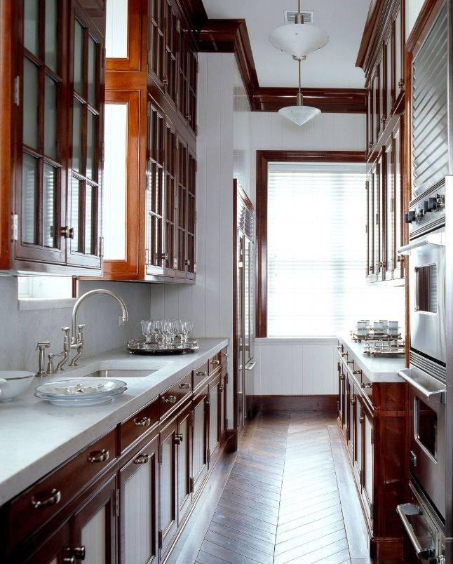 Дизайн маленькой кухни: 100+ реальных фото интерьеров