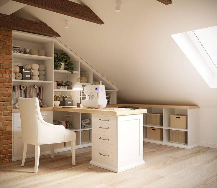 Выбор интерьера мансарды и фото примеры дизайна мансардных комнат