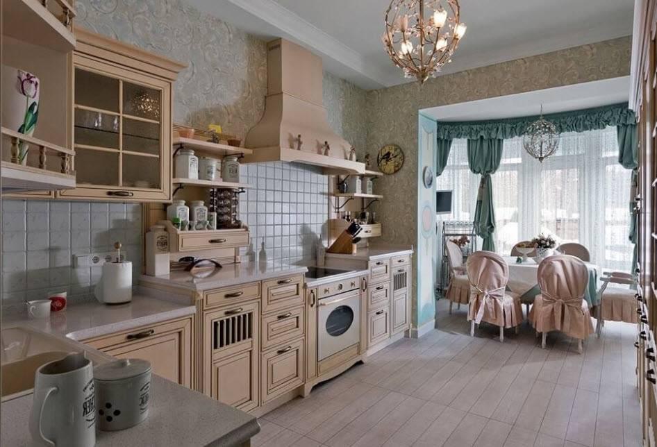 Кухня в стиле кантри (53 фото) - happymodern.ru