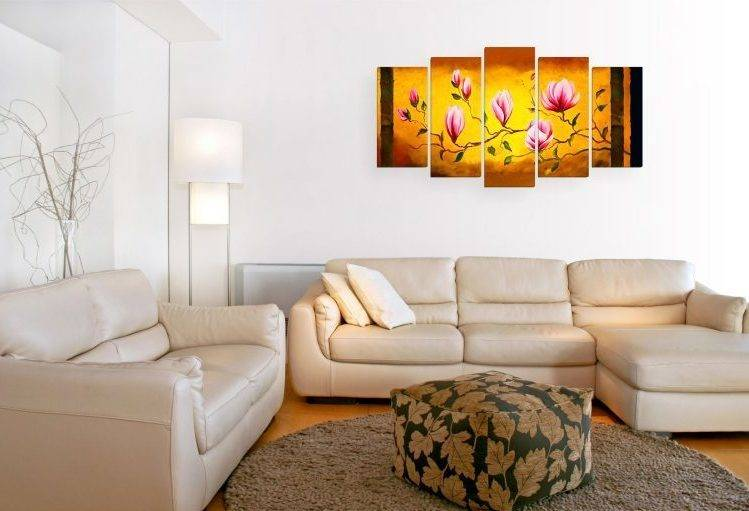 Картины в гостиную: все нюансы выбора и размещения, 200 фото идей
