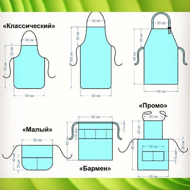 Как сшить фартук для кухни своими руками