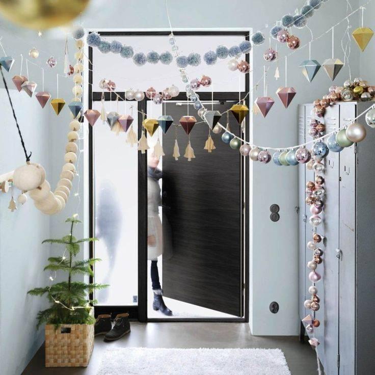 100 фото идей как украсить дом на Новый год
