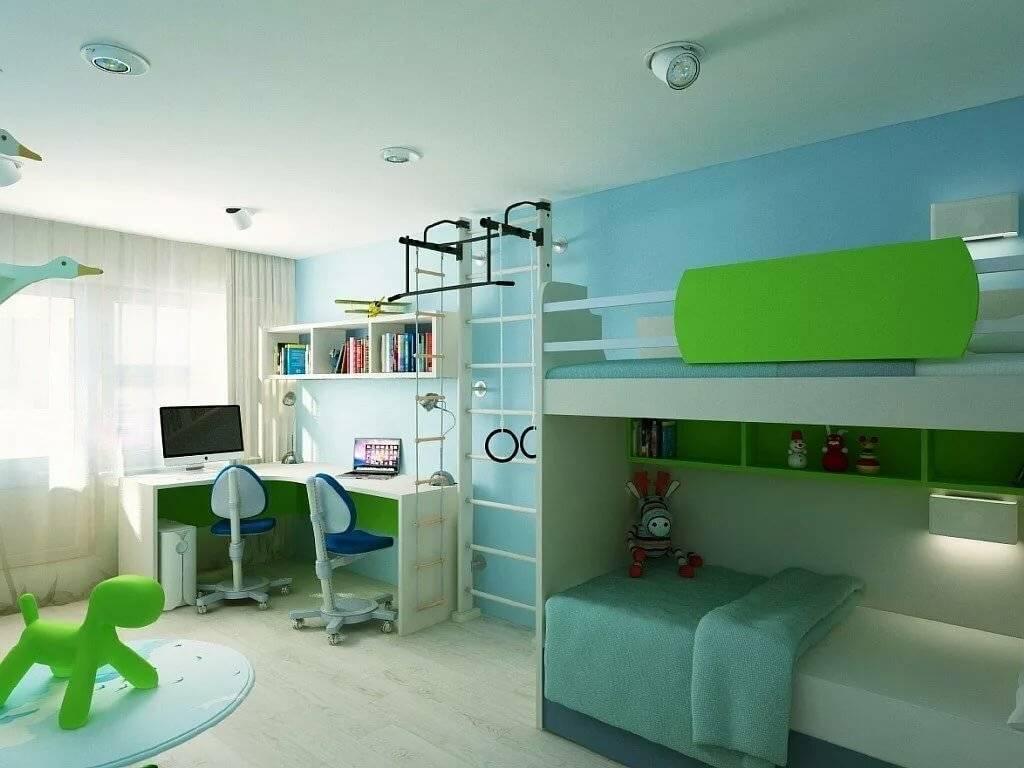 Детские спальни — дизайн интерьера для мальчика и девочки, необычные фото примеры оформления с обзором идей