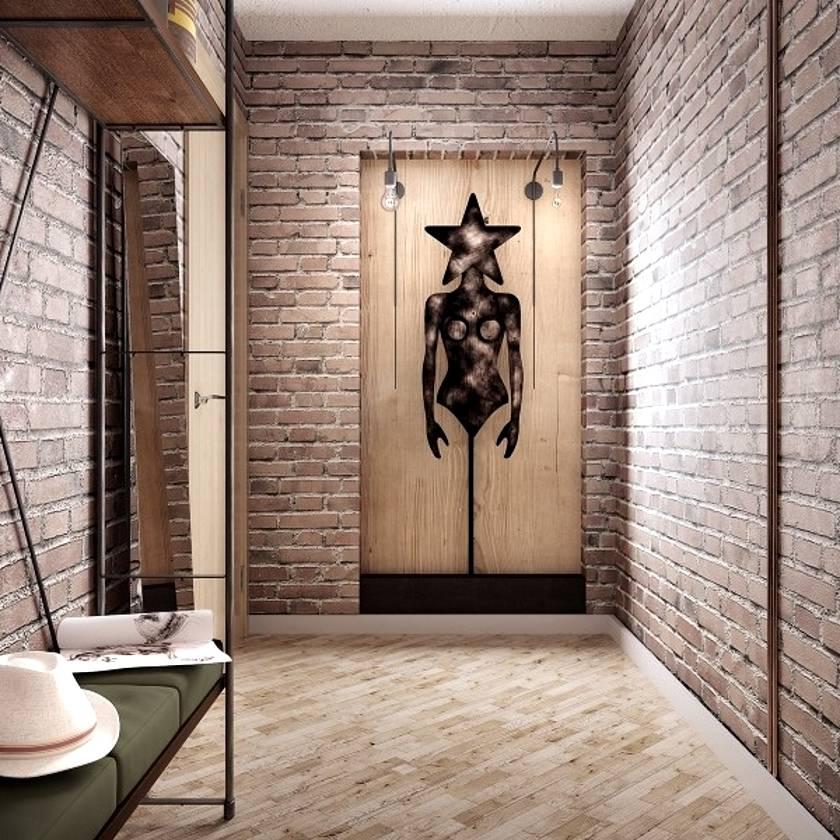 Отделка стен в прихожей (79 фото): варианты дизайна стен в интерьере. какими отделочными материалами лучше отделать стены в квартире?