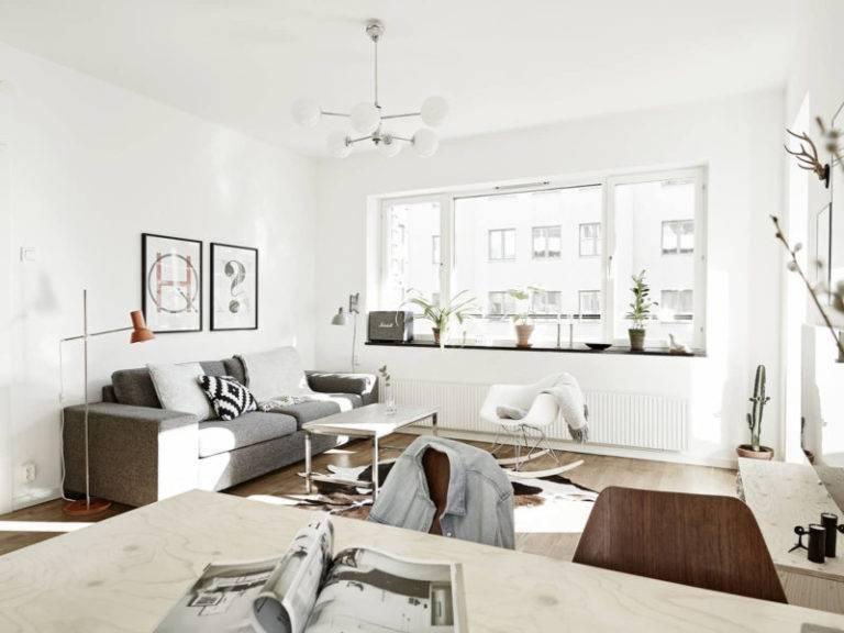Скандинавский стиль: лучшие дизайнерские решения в интерьере (65 фото)