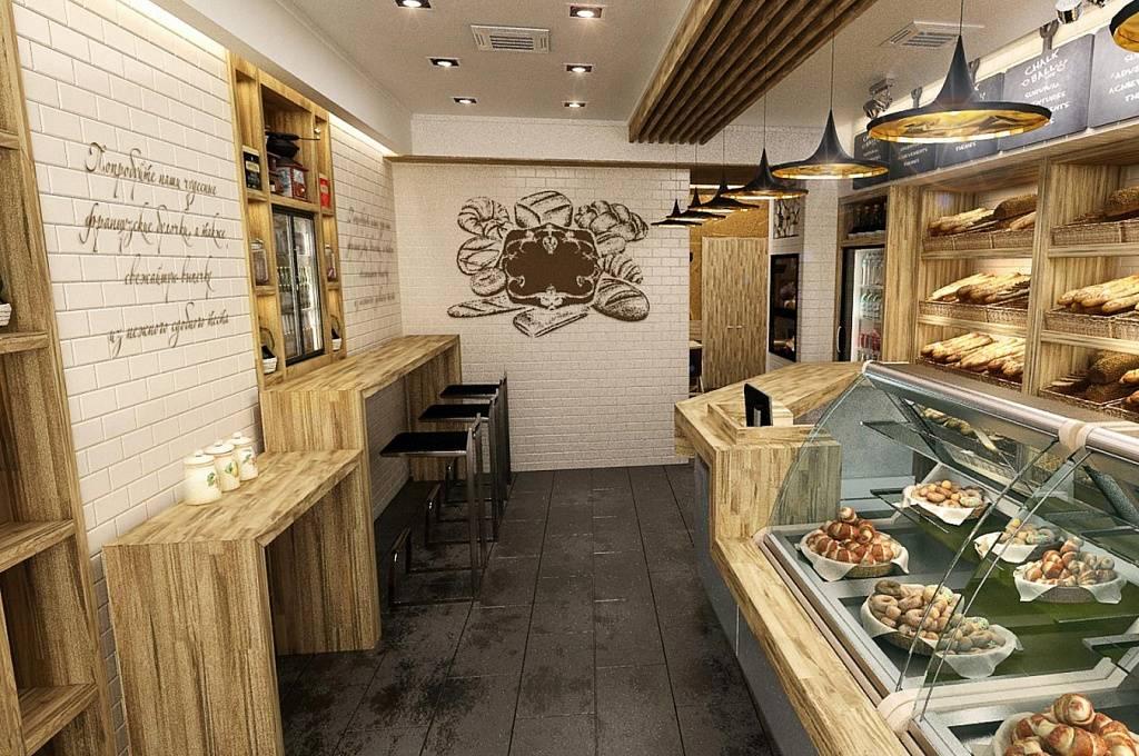 Дизайн пекарни в новом центре креативной индустрии в лондоне. пекарни дизайн интерьера