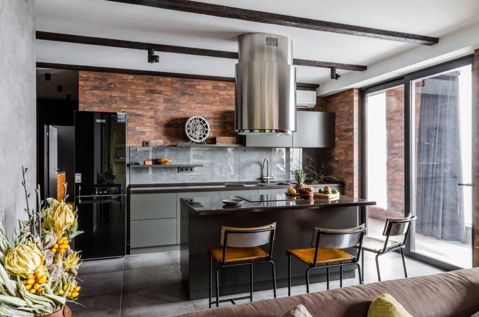 3 шага по созданию кухни-гостиной в стиле лофт