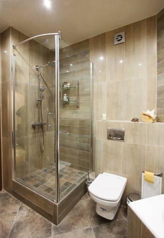 Дизайн ванной с душевой кабиной: фото, душ в маленькой ванной