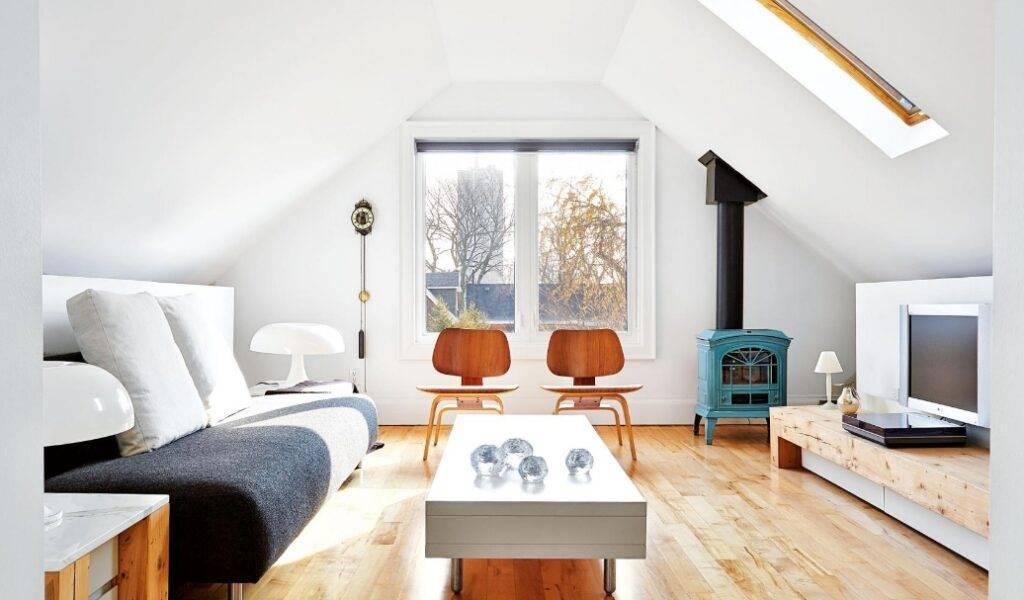 Спальня на мансарде: 100 модных новинок в дизайне интерьера