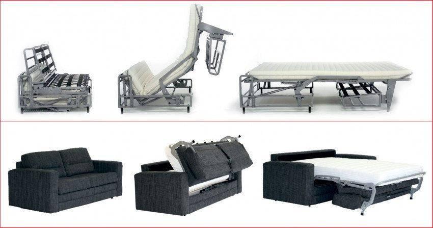 Диван-кровать, разновидности по форме, механизму трансформации