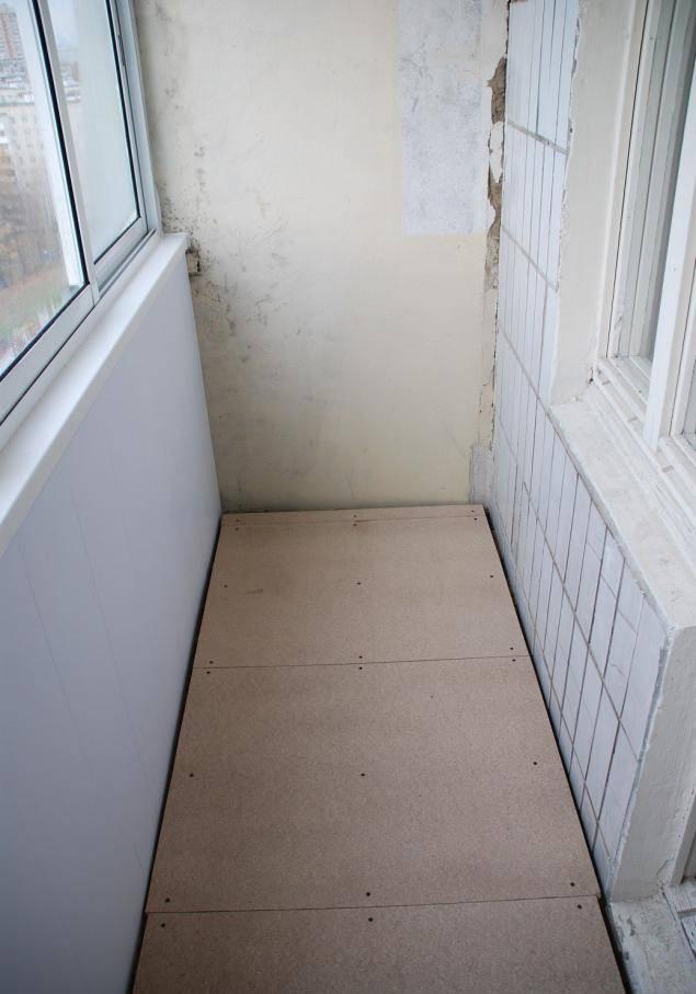 Пол на балконе своими руками: из чего лучше сделать - обзор вариантов - строительство и ремонт