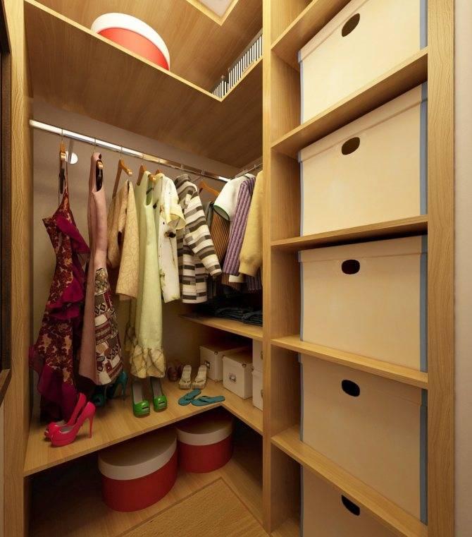 Гардеробная 2 кв. метра: реальные фото комнаты, дизайн, проекты из кладовки с размерами, в прихожей