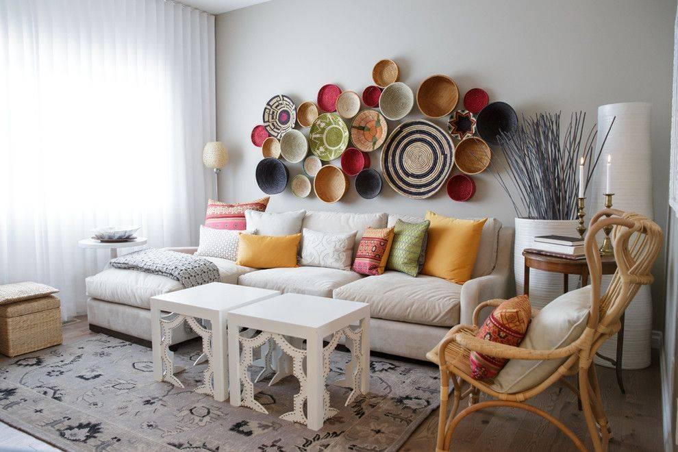 Лучшие идеи декора стен в гостиной в современном стиле: 50 фото