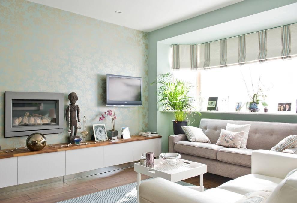 Серый интерьер гостиной с яркими акцентами: 200 фото идей и вариантов красивого дизайна