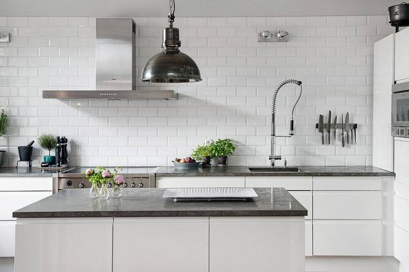 Плитка для кухни на фартук: 100 фото лучших идей оформления