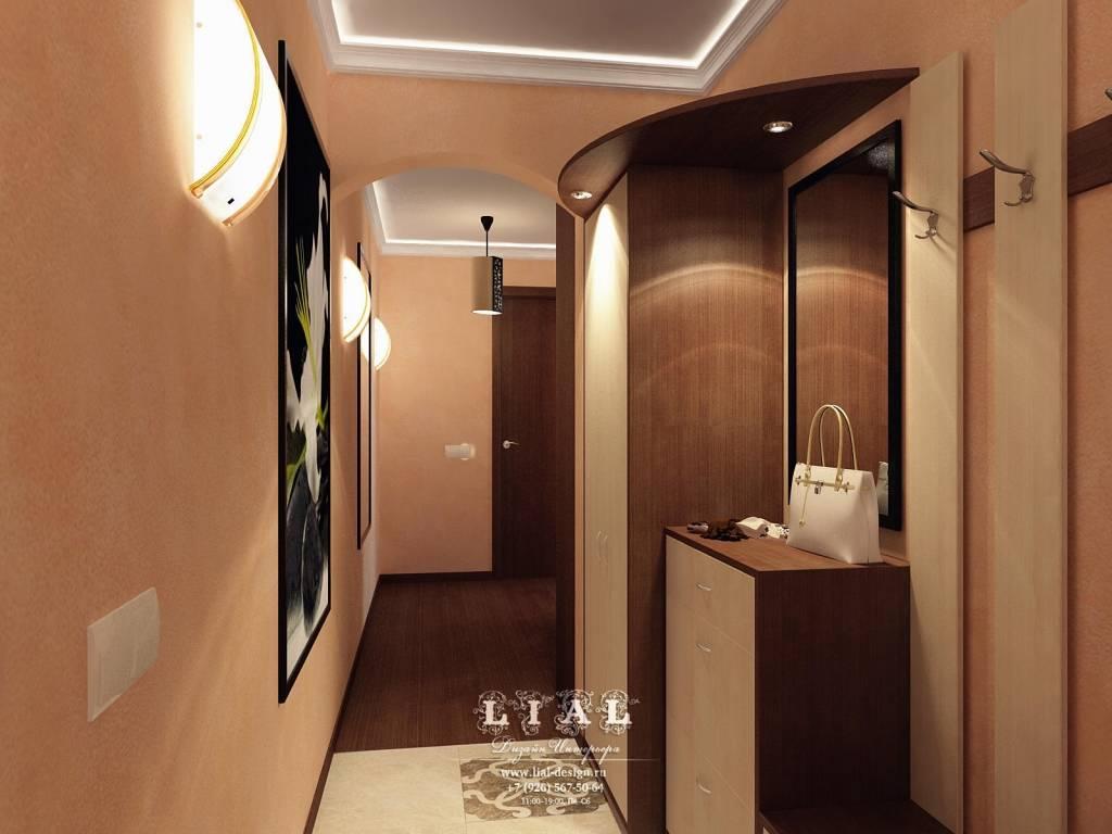 Какой выбрать дизайн прихожей в двухкомнатной квартире - отделка, свет и декорирование????