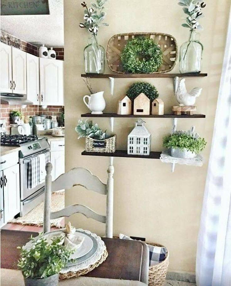Открытые полки на кухне - 75 фото примеров удачного оформления и дизайна