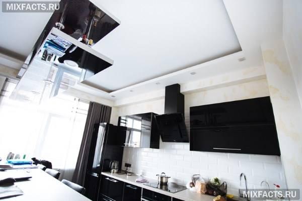 Натяжные потолки на кухне: варианты. как выбрать натяжные потолки для кухникухня — вкус комфорта