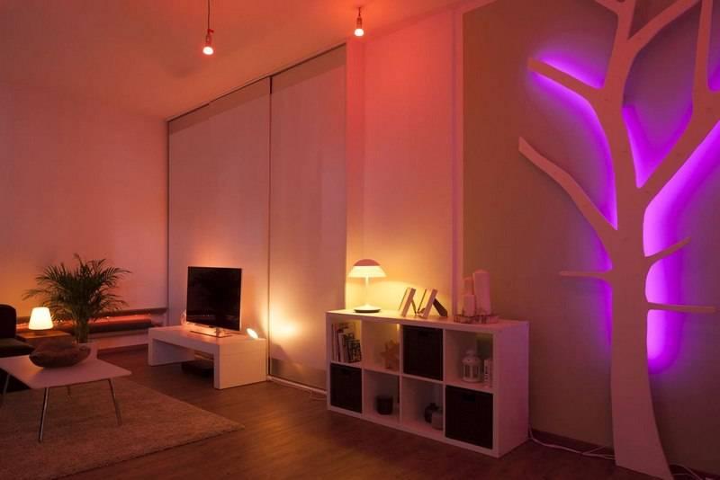 Свет как украшение интерьера. декоративное освещение