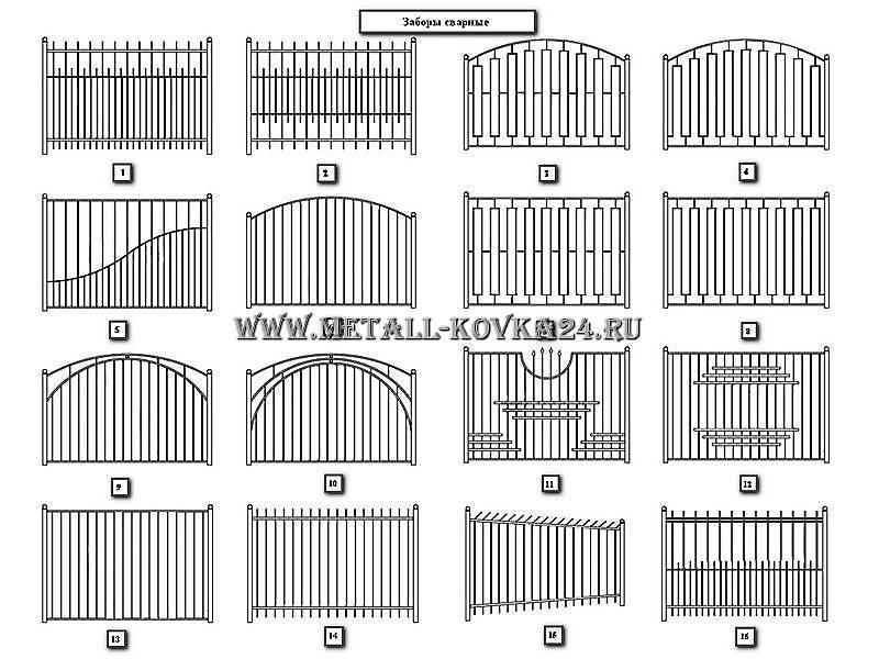 Забор из профильной трубы своими руками, эскизы металлических ограждений: инструкция, фото и видео-уроки, цена