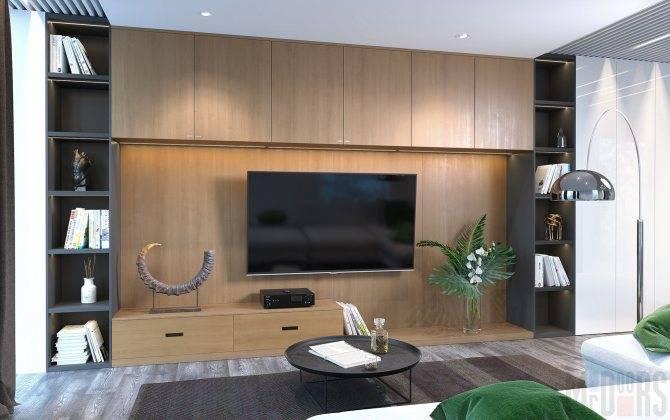 110 современных стенок-горок в гостиную: новинки с фото