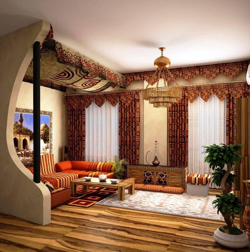 Восточная спальня — фото лучших идей арабского дизайна