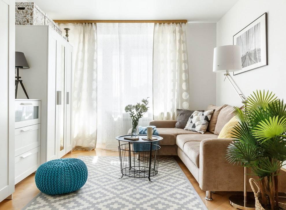 Квартира-студия в скандинавском стиле: 10 приемов и 10 оригинальных интерьеров